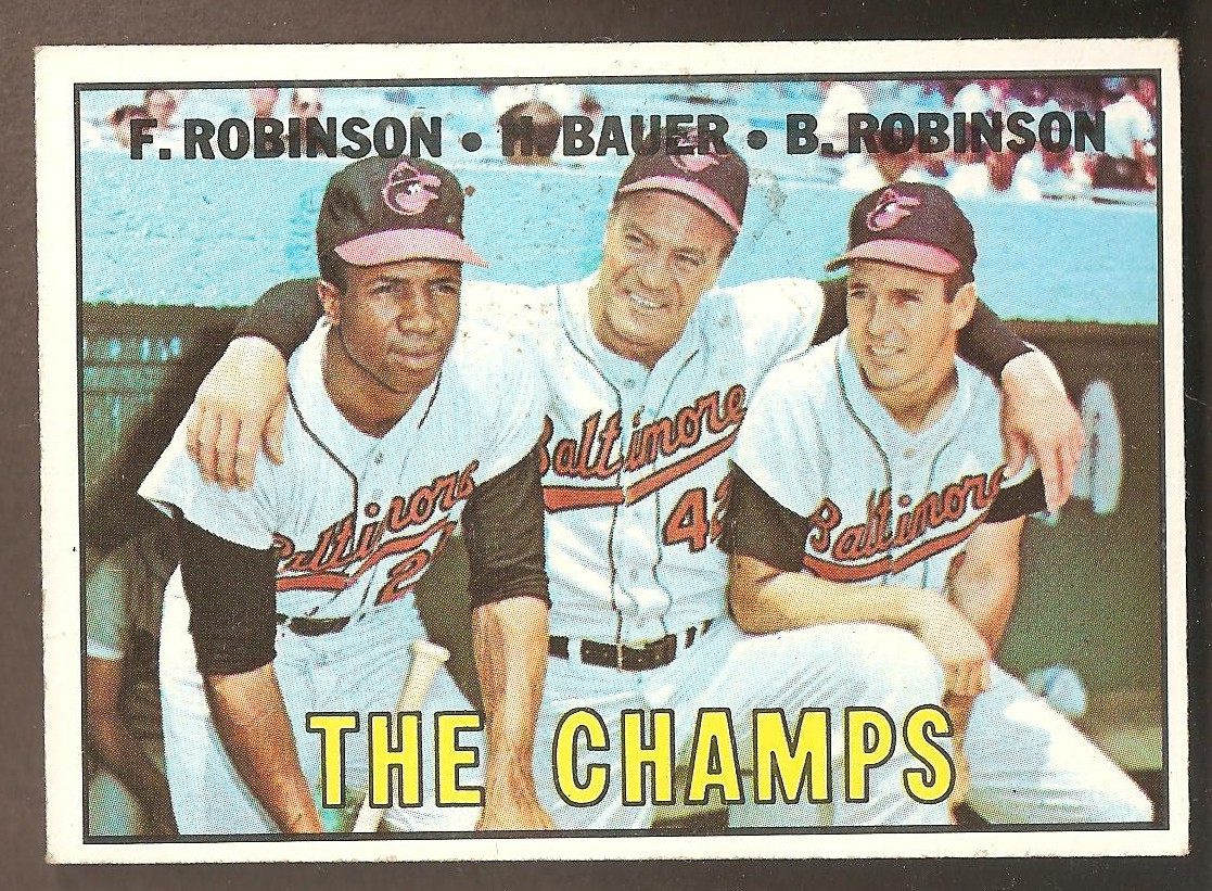 1967 Topps #1 The Champs